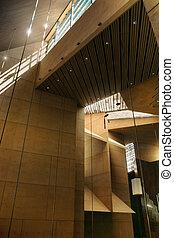 Abstract modern interior