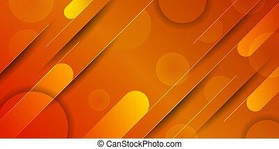 Abstract modern papercut geometric background