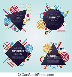 Abstract modern pattern and background in vector