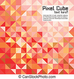 abstract modern pixel background