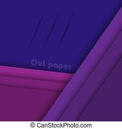 Abstract modern purple geometric background