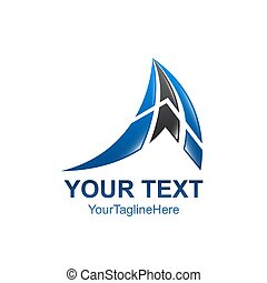 abstract, moderne, vorm., vector, ontwerp, logo, geometrisch, logo., element.