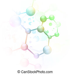 abstract molecule