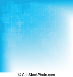 Abstract molecules medical background (Vector).