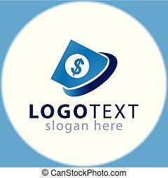 Abstract Money logo icon vector template