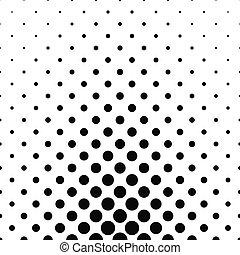 Abstract monochrome dot pattern