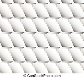 Abstract monochrome seamless pattern. Repeatable vector.