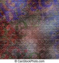 abstract, mooi, achtergrond, in, de, stijl, van, gemengde media