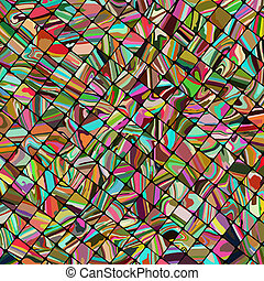 Abstract mosaic background. EPS 8