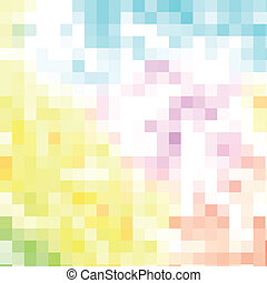 Abstract mosaic background, vector