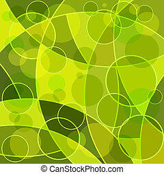 Abstract mosaic green background