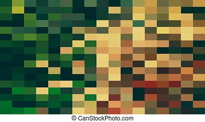 Abstract mosaic in various colors