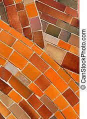 Abstract mosaic