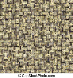abstract mosaic tile gray beige brick pattern