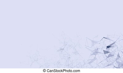 Abstract motion background. 4K seamless looping. - Abstract...