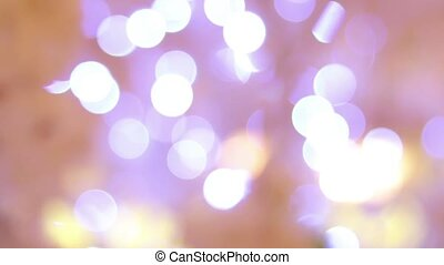 Abstract motion background defocused colorful bokeh. Close up