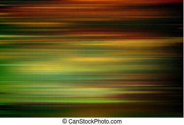 abstract brown green motion blur background vector illustration