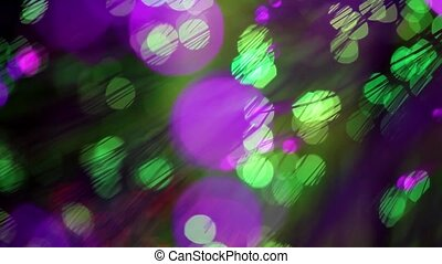 Abstract motion bokeh background