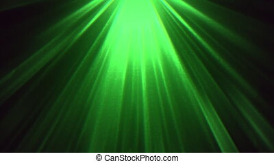 Abstract motion green lines in 80s style, looping animation retro background