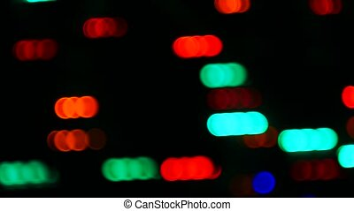 abstract motion light bokeh background