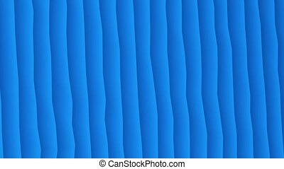 Abstract moving stripes in blue color