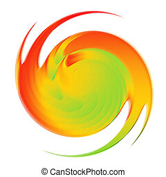 Swirl motion design. - Abstract multicolor backdrop. Swirl...