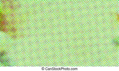 Abstract multicolor retro halftone effect - Abstract...