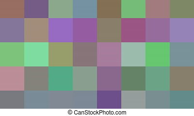 Abstract multicolor squares loopable motion background