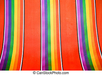 abstract multicolor stripes pattern