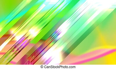 Abstract Multicolored Animation.