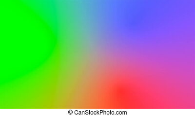 Abstract multicolored background with visual illusion and color shift effects, 3d render generating
