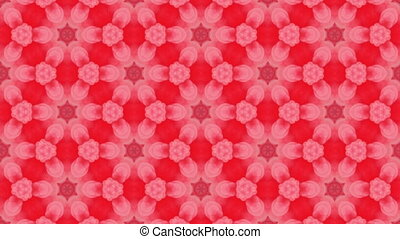 Abstract multicolored looping kaleidoscope animation for ...