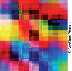 Abstract multicolored overlay background - Abstract colorful...
