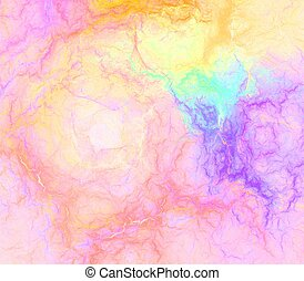 Abstract multicolored veined texture background. - Fractal ...
