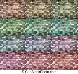 Abstract multy colors glass background.