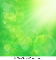 Abstract natural backgrounds with beauty bokeh for your design