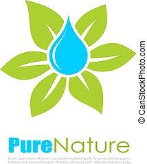 Abstract natural logo