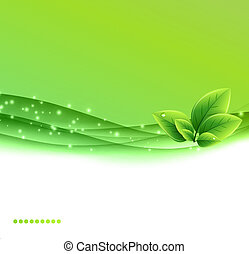 Abstract nature ecology  background