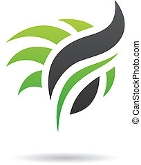Abstract Nature Icon