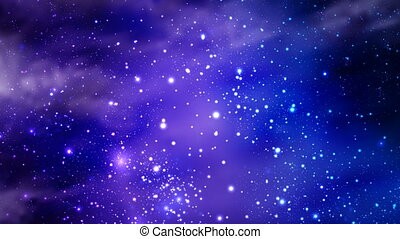 abstract nebula of the cosmic sky - Abstract nebula of the...