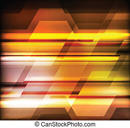 Abstract neon vector technology background