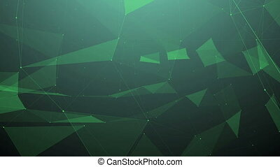 """Abstract network technology background"""