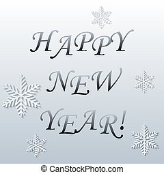Abstract New Year background. Vector illustration