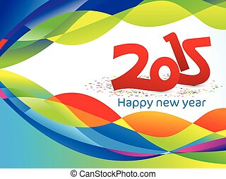 abstract new year background with c
