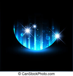 Abstract Night Background
