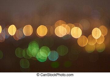 Abstract night lights