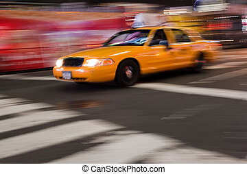 Abstract NYC Taxi
