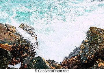 Abstract Ocean Water Texture