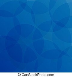 Abstract of blue circle pattern background.