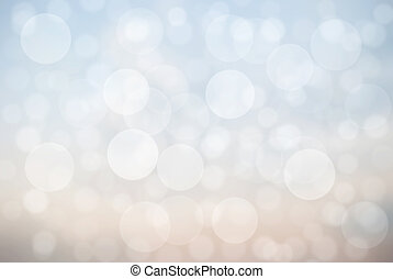 Abstract of bokeh effect on background